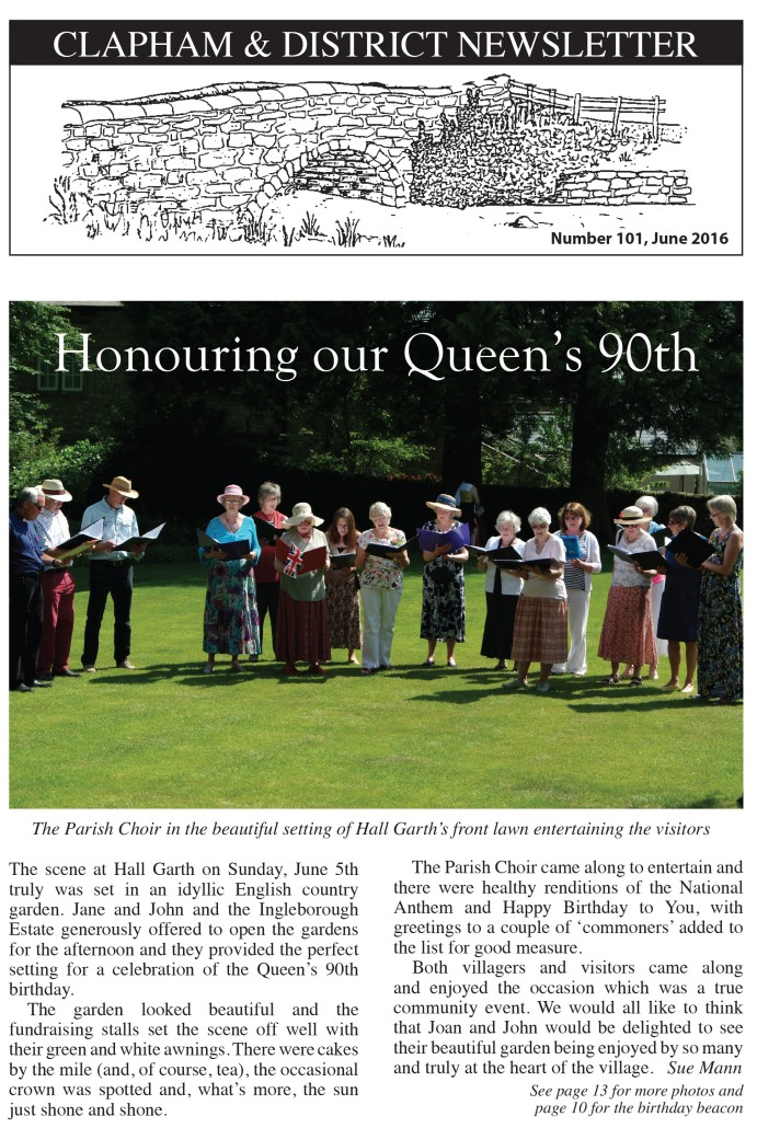 Queen's 90th Newsletter No 101 June 2016