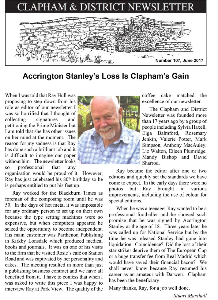 clapham-newsletter-107-june-2017-1