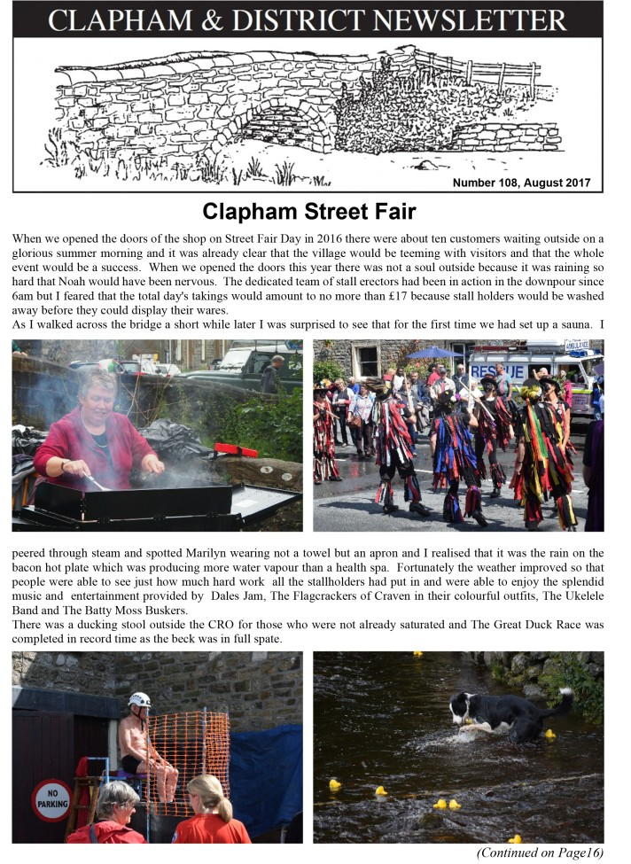 clapham-newsletter-108-august-2017-1