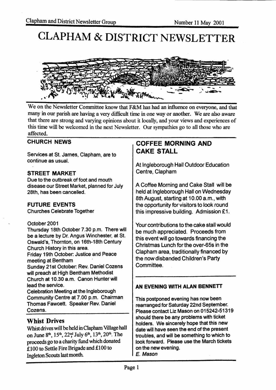 Clapham_Newsletter_No11_May_2001-1