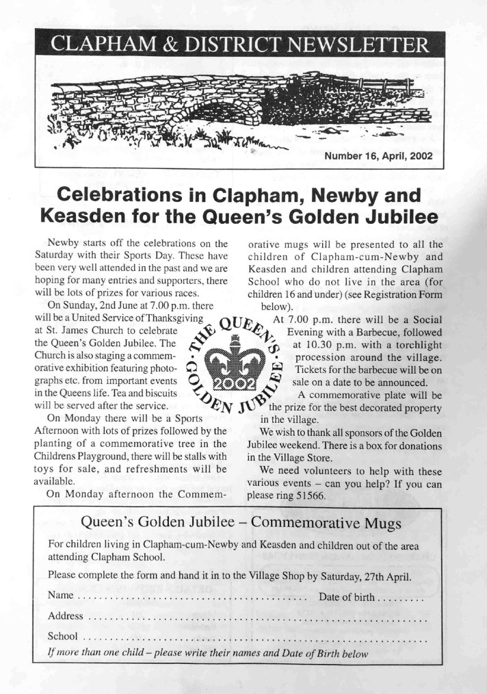 Clapham_Newsletter_No16_April_2002-1