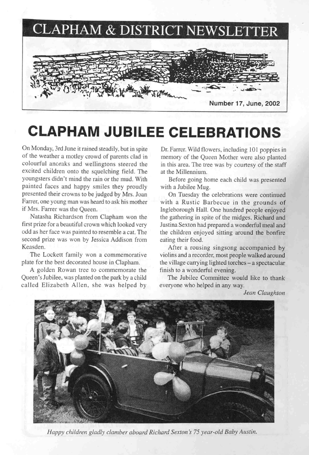 Clapham_Newsletter_No17_June_2002-1