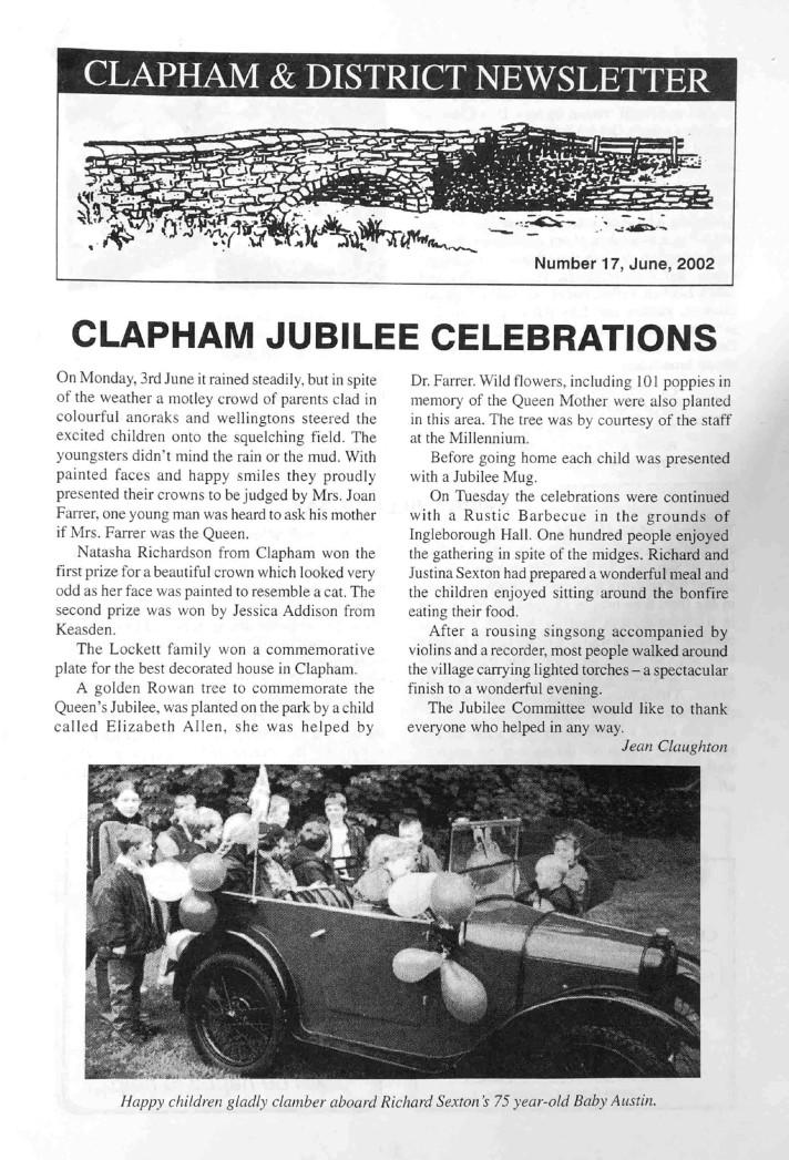 Clapham_Newsletter_No17_June_2002-1