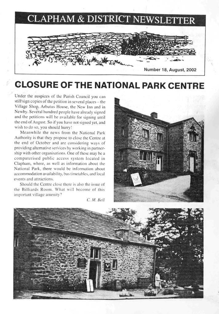 Clapham_Newsletter_No18_August_2002-1
