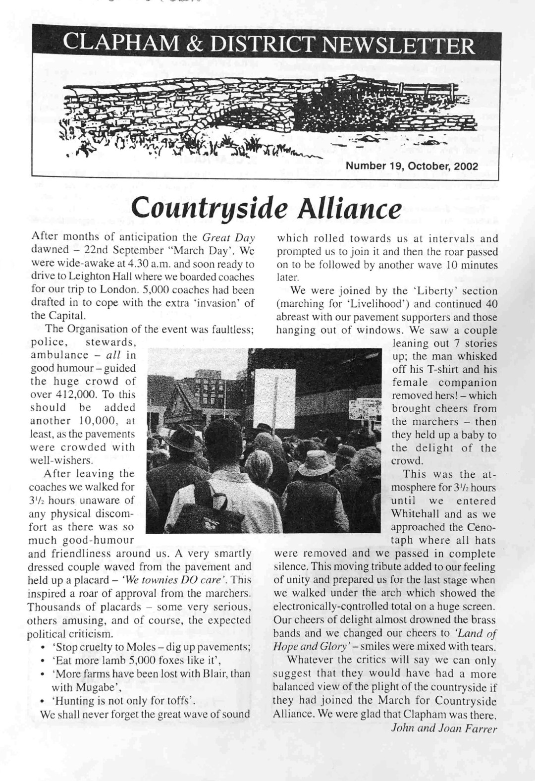 Clapham_Newsletter_No19_October_2002-1
