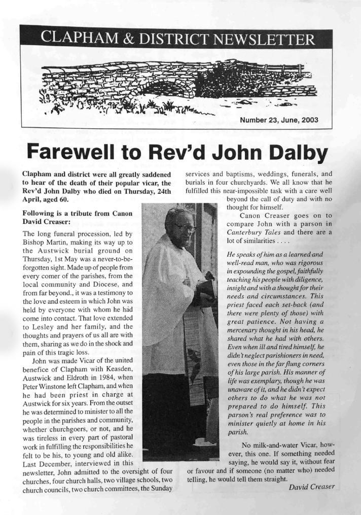 Clapham_Newsletter_No23_June_2003-1