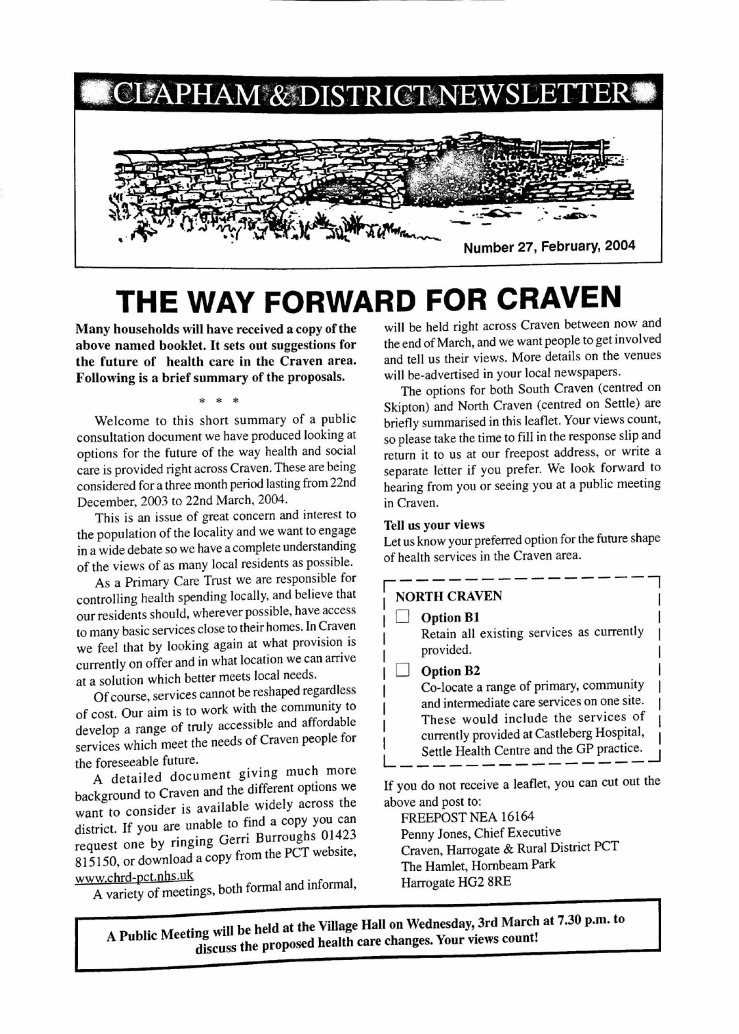 Clapham_Newsletter_No27_February_2004-1