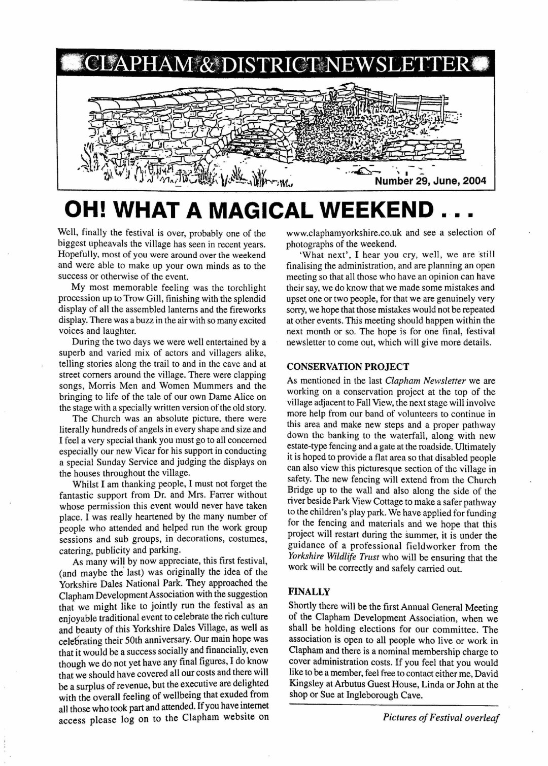 Clapham_Newsletter_No29_June_2004-1