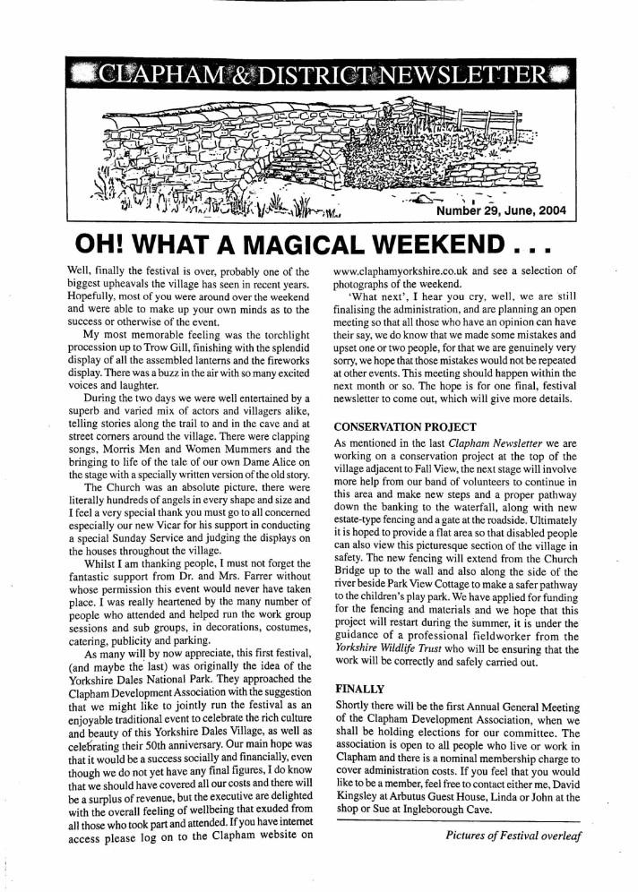 Clapham_Newsletter_No29_June_2004-1