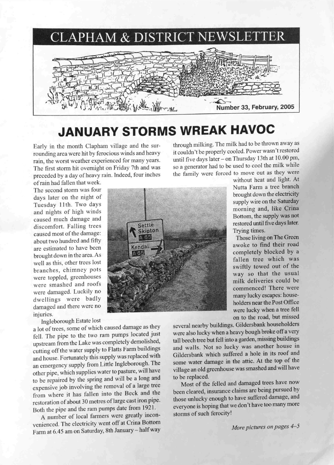 Clapham_Newsletter_No33_February_2005-1