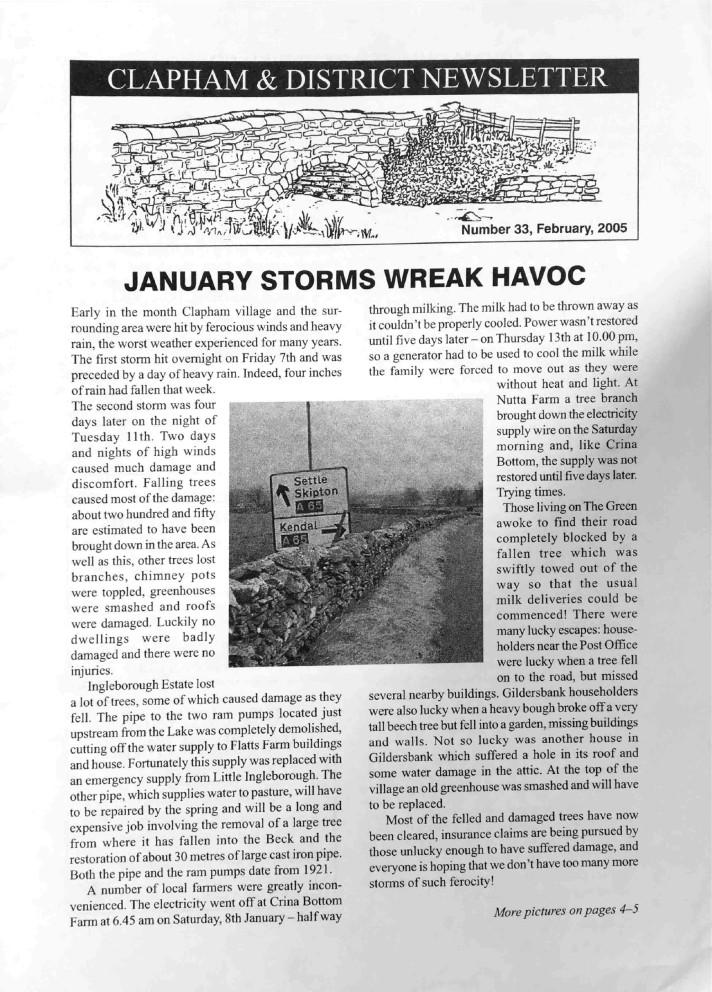 Clapham_Newsletter_No33_February_2005-1
