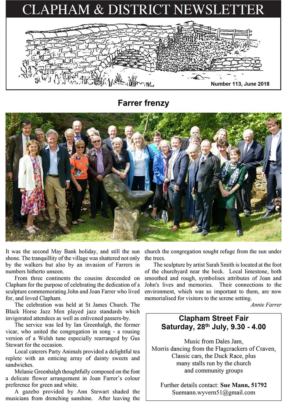 clapham-newsletter-113-june-2018-1