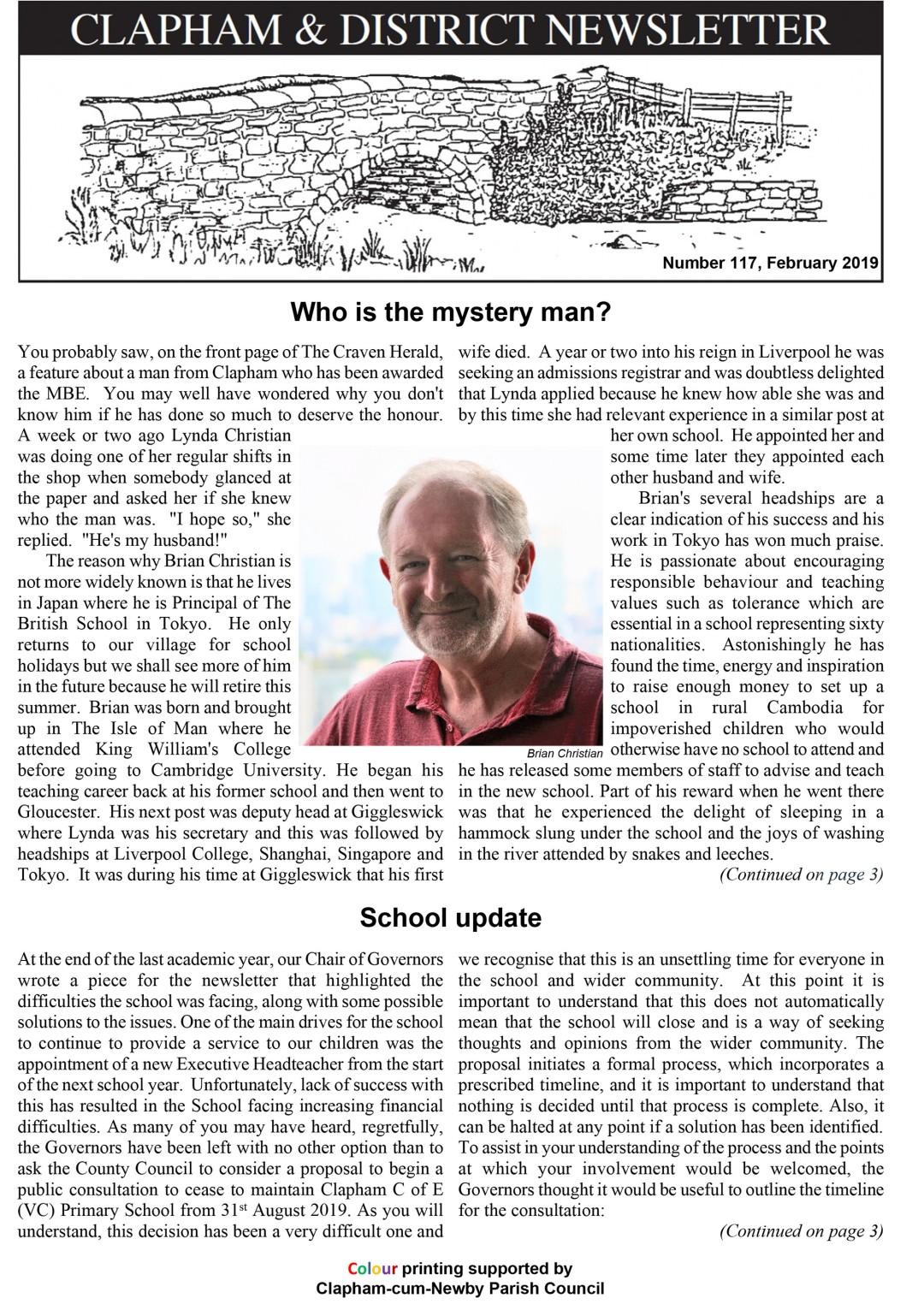 clapham-newsletter-117-february-2019-1