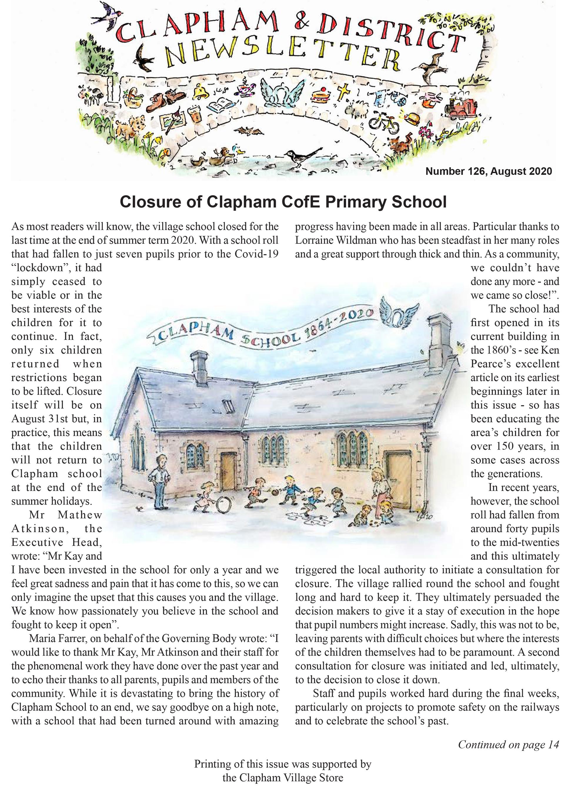 clapham-newsletter-126-august-2020-1